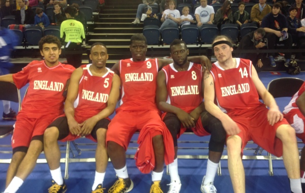 England team select game