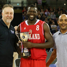 Winning the BBL Trophy Dunk Contest
